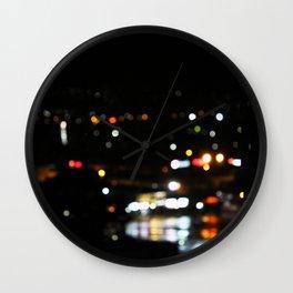 Night to Reflect Wall Clock