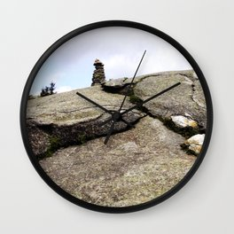 Mountain Carin 3 Wall Clock