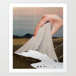 The Skin That Forms On The Surface Art Print