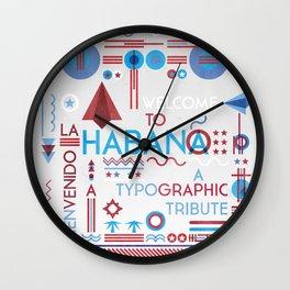 La Habana Wall Clock