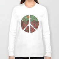 landscape Long Sleeve T-shirts featuring Peaceful Landscape by Hector Mansilla