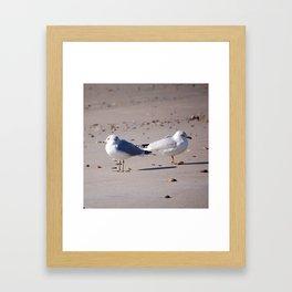 Lovers' Spat Framed Art Print