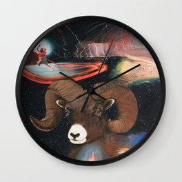 Aries - Zodiac Wildlife Series Wall Clock