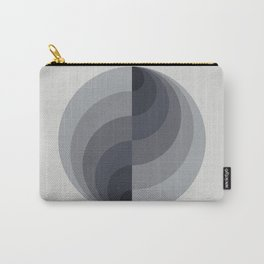 Marble Gray Globe LT Carry-All Pouch