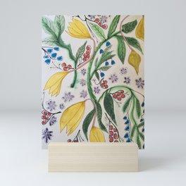 Golden Days. Mini Art Print