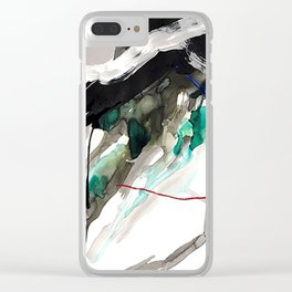 Day 18: Today I gave my mind a rest and let the materials take the lead. Clear iPhone Case