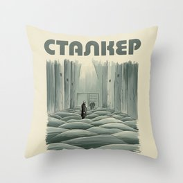 Stalker - Tarkovsky Throw Pillow