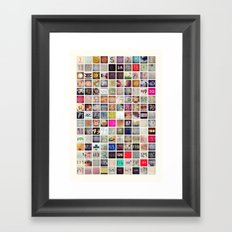 My Days Are Numbered - 150 Days Framed Art Print