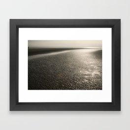 Sand Moguls Framed Art Print