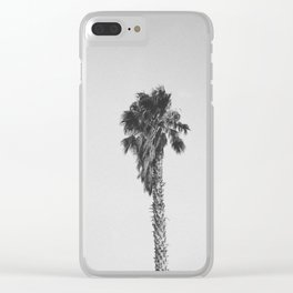 PALM TREES V / Joshua Tree, California Clear iPhone Case