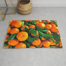 oranges from the grocery store Rug