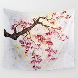 Cherry Tree Wall Tapestry