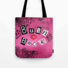 The ORIGINAL Burn Book design from the movie Mean Girls Tote Bag