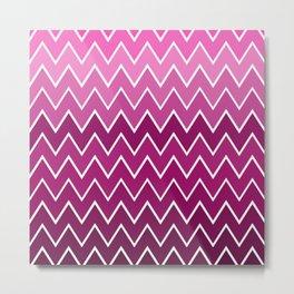 Pink See Saw Metal Print