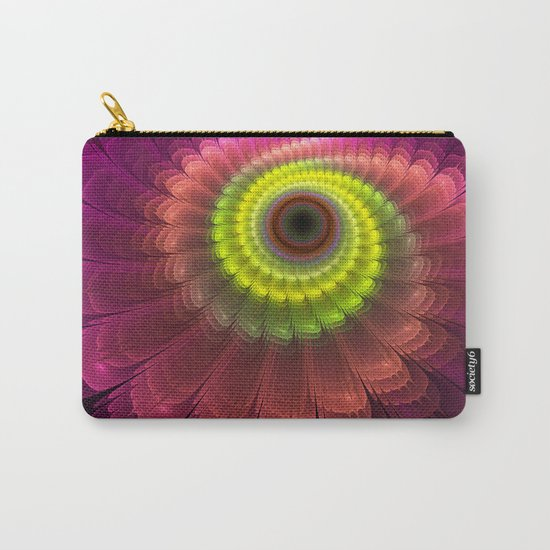 Curling up fantasy flower Carry-All Pouch