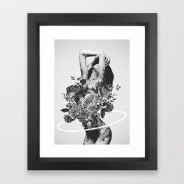 Be Slowly Framed Art Print