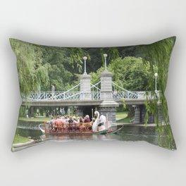 Boston Swan Boat Rectangular Pillow