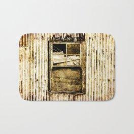 Window in a tin wall Bath Mat