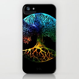 Tree of Life Mandala iPhone Case