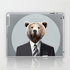 Bear Suit Laptop & iPad Skin