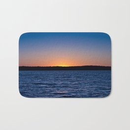 Blue Sunrise Bath Mat