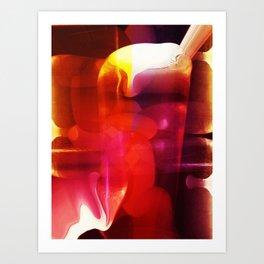 """""""A Burger And A Brew"""" Art Print"""