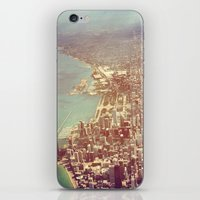 chicago iPhone & iPod Skins featuring Chicago by lizzy gray kitchens