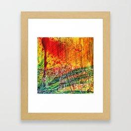 Take city Framed Art Print