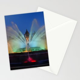 Magic Fountain of Montjuic 2 Stationery Cards