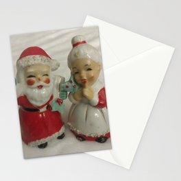 Mr. and Mrs. Claus Stationery Cards
