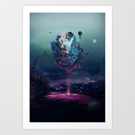 flying object Art Print