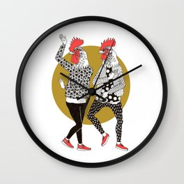 party people Wall Clock