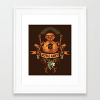 army Framed Art Prints featuring Royal Army by Hillary White