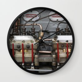 Tasty Diesel Wall Clock