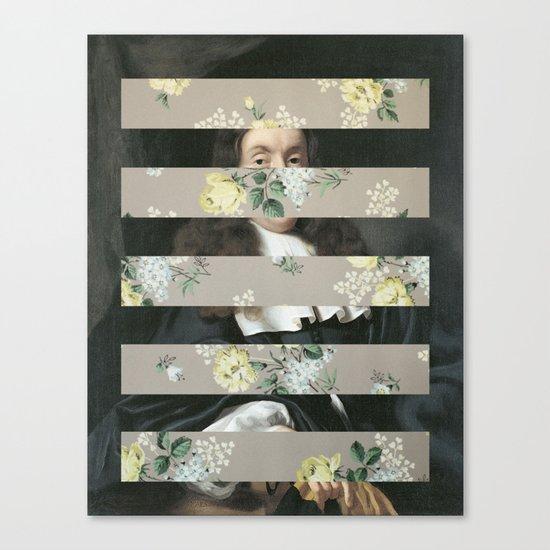 A Portrait With Bars 3 Canvas Print