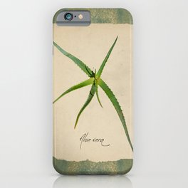 Herbal Apothecary: Aloe iPhone Case