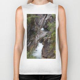 Norwegian waterfall photo, landscape photos, pothole, Instant download, Fine art gifts  Biker Tank