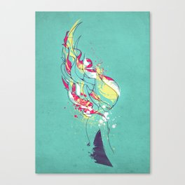Colorblind Canvas Print