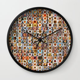 2012 in Empty Demitasse Wall Clock