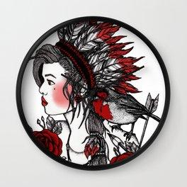 Robbin Red Breast Wall Clock