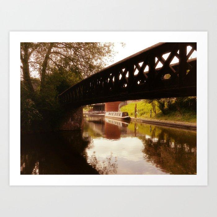 Canal Dreams Art Print