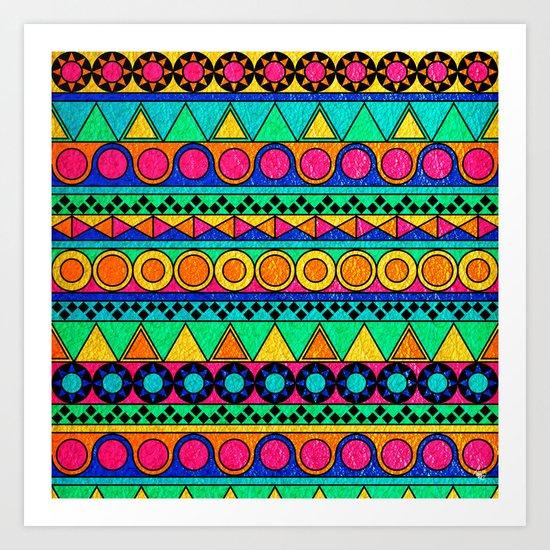 Funke Art Print