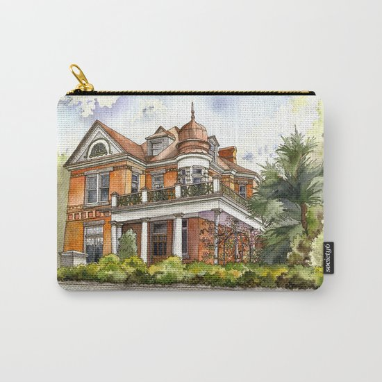Stately Manor House Carry-All Pouch