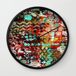 Bold and Happy Wall Clock