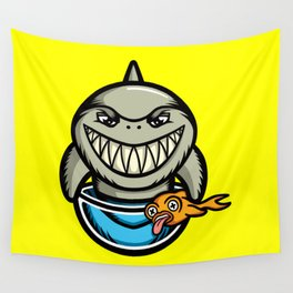 Spike the Shark Wall Tapestry
