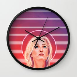 Gillian Anderson - 1968 - No characters Wall Clock