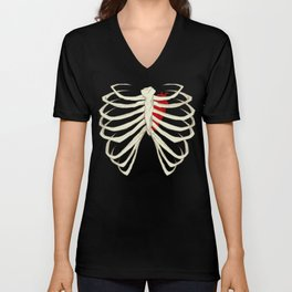 Skeleton Unisex V-Neck
