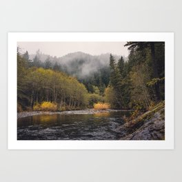 Salmon River I Art Print