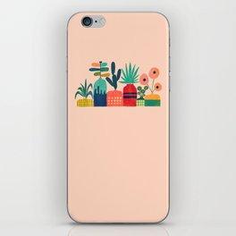 Plant mania iPhone Skin