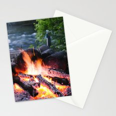River & Fire Stationery Cards